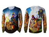 Clash of Clans For Man Long Sleeve 3D Fullprint Sublimation Size : S To 3XL
