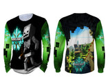 MINECRAFT For Man Long Sleeve 3D Fullprint Sublimation Size : S To 3XL