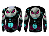 The Nightmare Before Christmas 3D Digital Printed Men's Long Sleeve T-Shirt Sublimation
