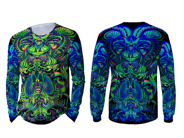 DMT 3D Digital Printed Sublimation Long Sleeve T-Shirt Art 20