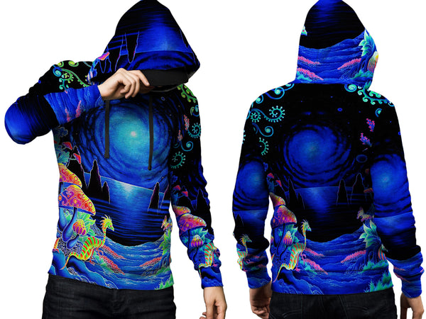 DMT 3D Digital Printed Men's Hoodie Sublimation Art 17