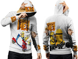 Despicable Me 3 For Man PullOver Hoodie 3D Fullprint Sublimation Size : S To 3XL