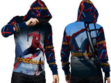 Spider-Man Homecoming Man PullOver Hoodie 3D Fullprint Sublimation Size : S To 3XL