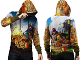 Clash of Clans For Man PullOver Hoodie 3D Fullprint Sublimation Size : S To 3XL