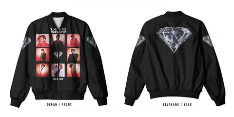 New Fans K-POP EXO Art 2 3D Digital Printed Men's Bomber Jacket Sublimation sizes: S to 3XL