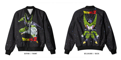 New Fans Dragon Ball Z Art 6 3D Digital Printed Men's Bomber Jacket Sublimation sizes: S to 3XL