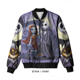 The Nightmare Before Christmas 3D Digital Printed Men's Bomber Jacket Sublimation