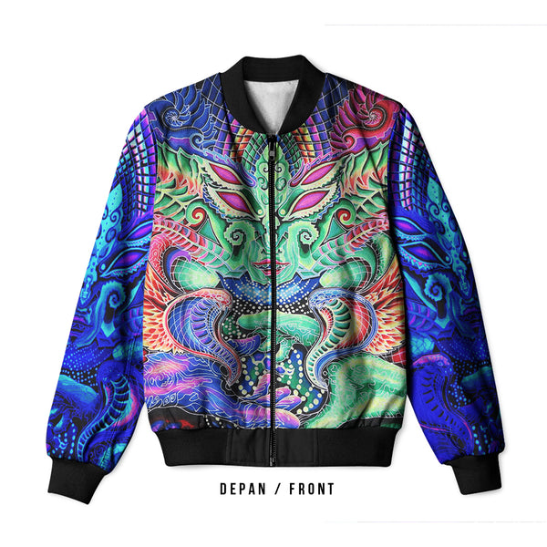 DMT 3D Digital Printed Men's Bomber Jacket Sublimation Art 19