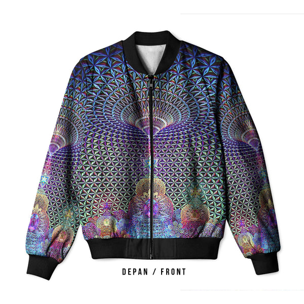 DMT 3D Digital Printed Men's Bomber Jacket Sublimation Art 21
