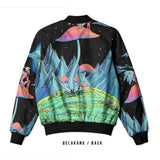DMT 3D Digital Printed Men's Bomber Jacket Sublimation Art 3