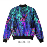 DMT 3D Digital Printed Men's Bomber Jacket Sublimation Art 5