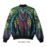 DMT 3D Digital Printed Men's Bomber Jacket Sublimation Art 23