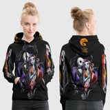 The Nightmare Before Christmas 3D Full Print Sublimation Women PullOver Hoodie Art 02