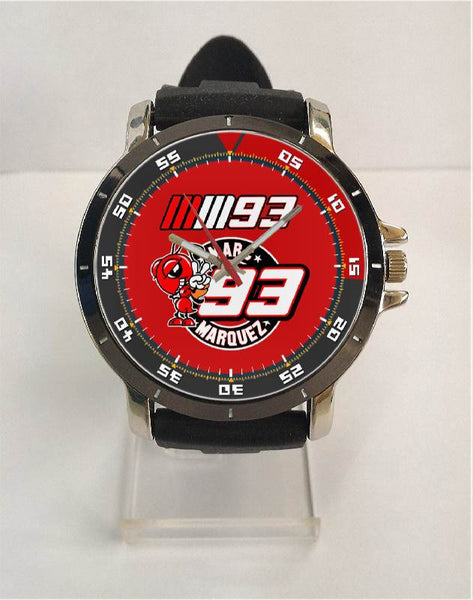 Hot New Design MARQUEZ Art 1 Custom Sport Wristwatch Sport Big Face Rubber Band