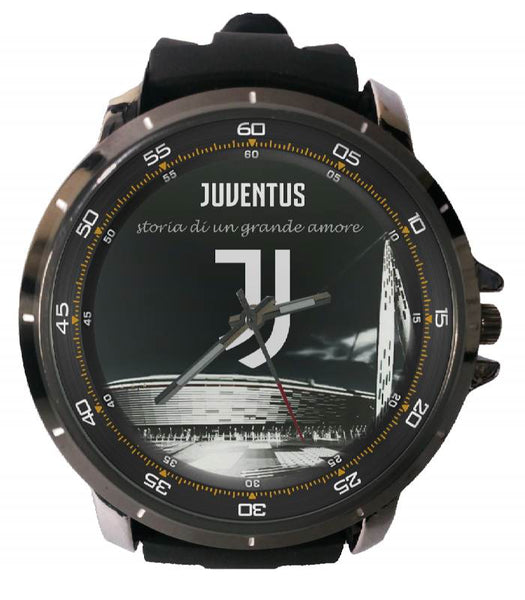 Hot New Design JUVENTUS Art 1 Custom Sport Wristwatch Sport Big Face Rubber Band
