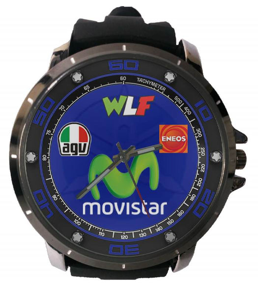 Hot New Design MOVISTAR Art 5 Custom Sport Wristwatch Sport Big Face Rubber Band
