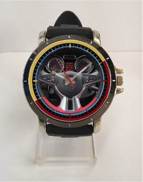 Hot New Design OPEL Art 1 Custom Sport Wristwatch Sport Big Face Rubber Band