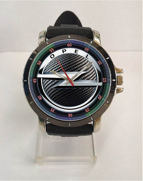Hot New Design OPEL Art 4 Custom Sport Wristwatch Sport Big Face Rubber Band