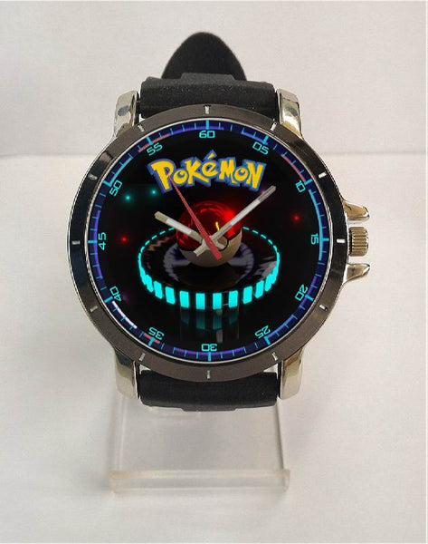 Hot New Design POKEMON GO Art 1 Custom Sport Wristwatch Sport Big Face Rubber Band