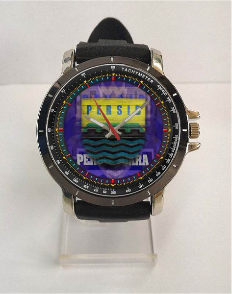 Hot New Design PERSIB Art 1 Custom Sport Wristwatch Sport Big Face Rubber Band
