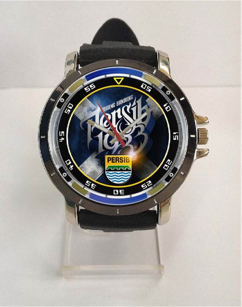 Hot New Design PERSIB Art 3 Custom Sport Wristwatch Sport Big Face Rubber Band