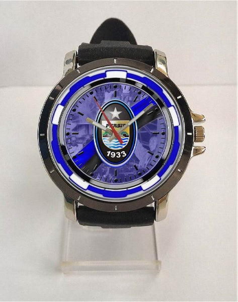 Hot New Design PERSIB Art 4 Custom Sport Wristwatch Sport Big Face Rubber Band