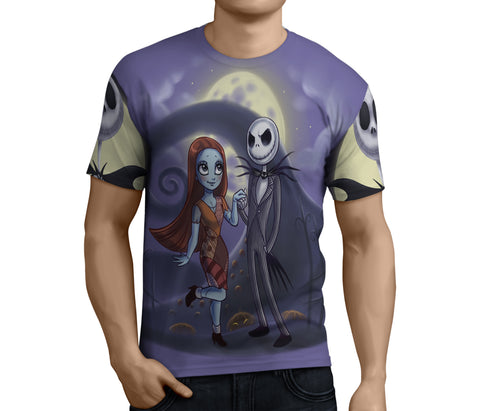 Nightmare Before Christmas 3D Full Print Sublimation Men T Shirt Art 06