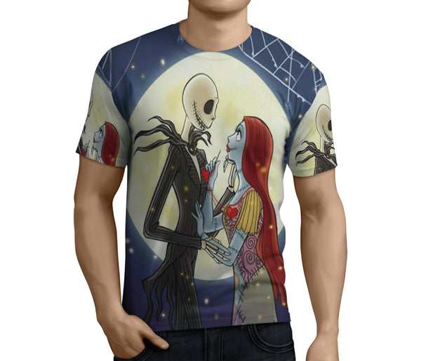 The Nightmare Before Christmas 3D Full Print Sublimation Men T Shirt Art 01