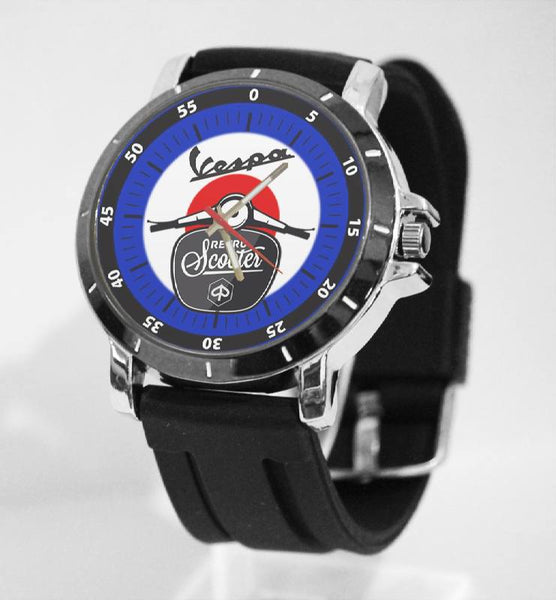 Hot New Design VESVA Art 3 Custom Sport Wristwatch Sport Big Face Rubber Band