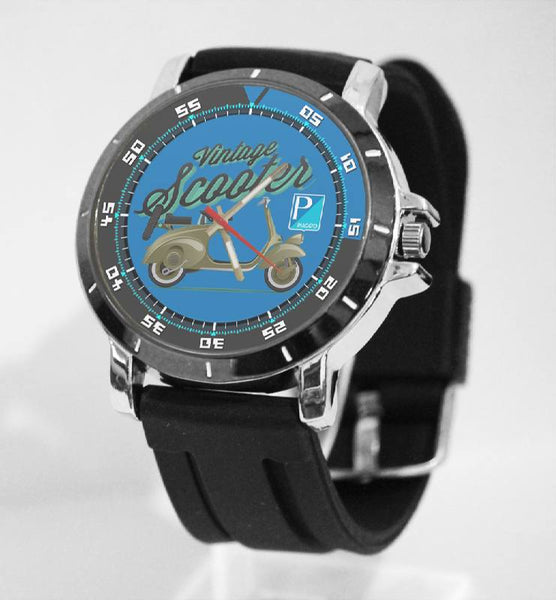Hot New Design VESVA Art 4 Custom Sport Wristwatch Sport Big Face Rubber Band