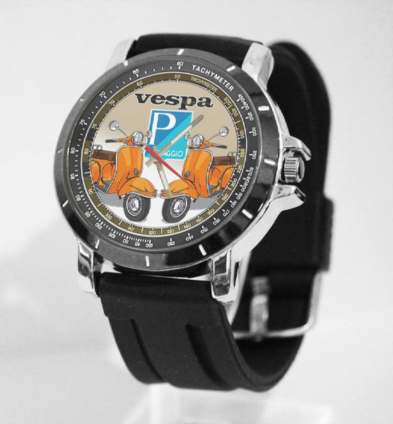 Hot New Design VESVA Art 5 Custom Sport Wristwatch Sport Big Face Rubber Band