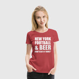 Women Premium T-Shirt New York Football