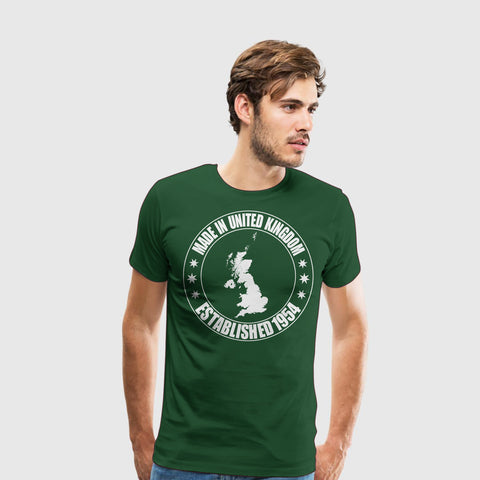 Men's Premium T-Shirt Made in United Kingdom