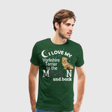 Men's Premium T-Shirt I Love my Yorkshire Terrier White