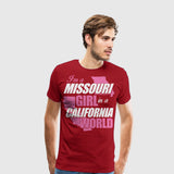 Men's Premium T-Shirt Im a Missouri Girl
