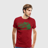 Men's Premium T-Shirt  ITS A GREEN AND WHITE THING