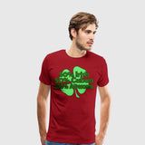 Men's Premium T-Shirt Irish Cuban Awesome