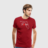 Men's Premium T-Shirt Florida Home