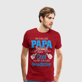 Men's Premium T-Shirt Im Called Papa