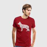 Men's Premium T-Shirt German Shepherd