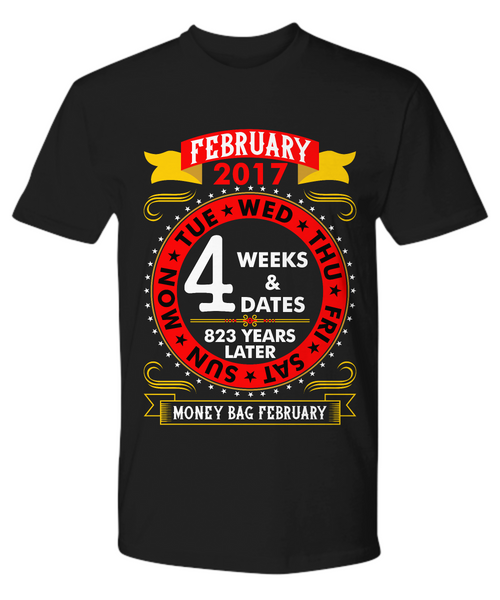 Money Bag February 2017 - Man T-Shirt
