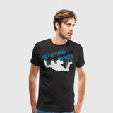 Men's Premium T-Shirt Skydiving