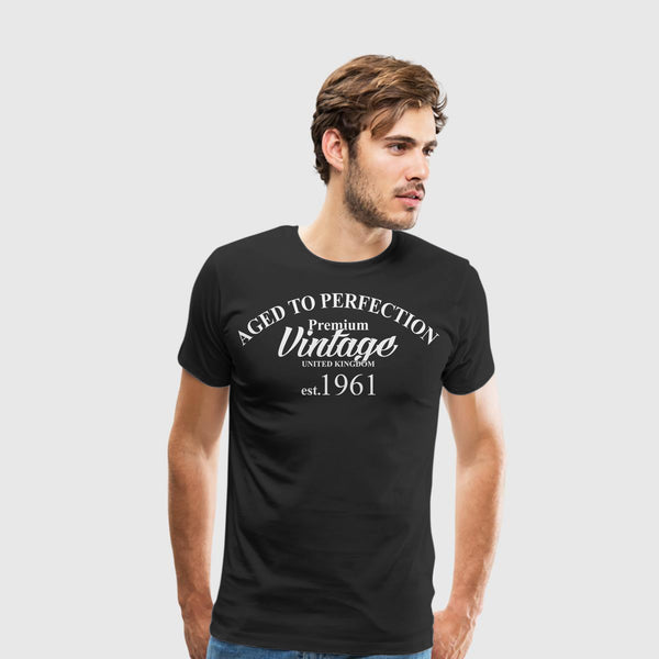 Men's Premium T-Shirt Aged to Perfection
