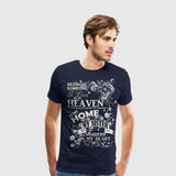 Men's Premium T-Shirt Sister Heaven in my home white