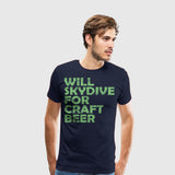 Men's Premium T-Shirt Skydive Craft Beer