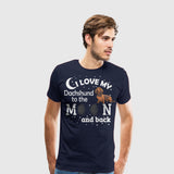 Men's Premium T-Shirt I Love My Boxe White