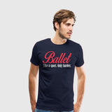 Men's Premium T-Shirt Dancing-Ballet