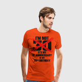 Men's Premium T-Shirt Im Not 30