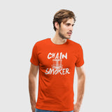 Men's Premium T-Shirt Chain Smoker
