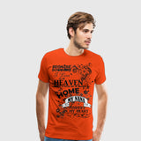 Men's Premium T-Shirt Nana Heaven in my home black